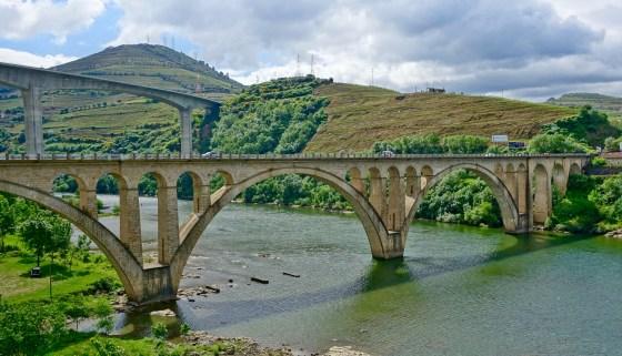 Douro Valley Regua bridges