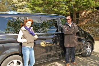 Ana and Marco Douro Exclusive van