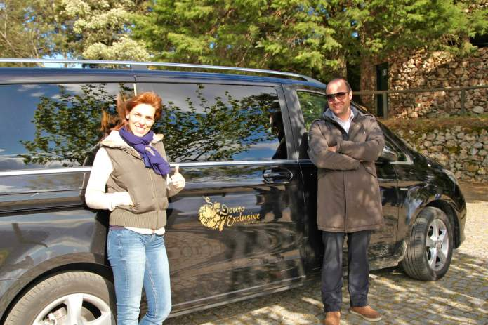 Ana and Marco Douro Exclusive van