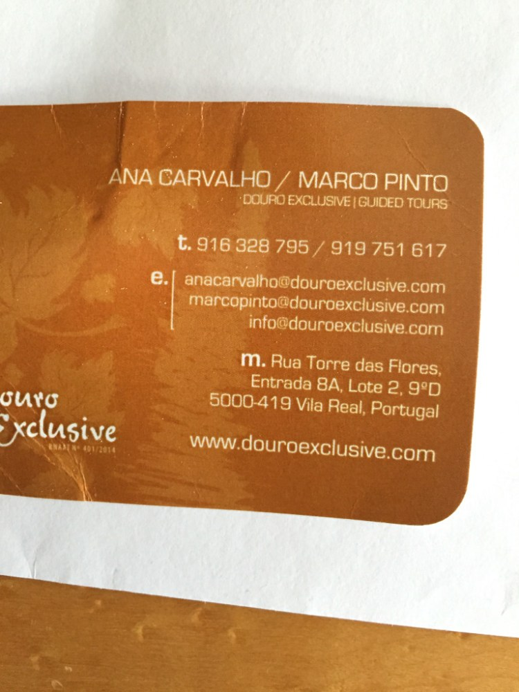 Douro Valley Douro Exclusive contact information