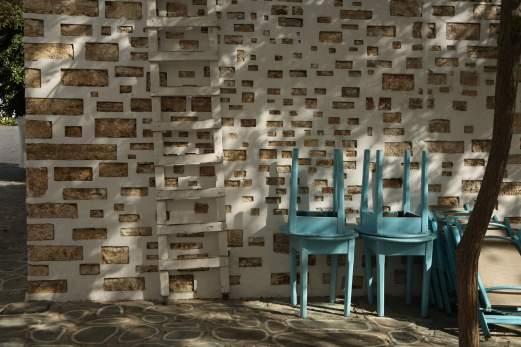 Chora Folegandros shadows