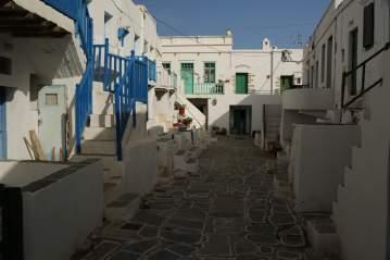 Chora Folegandros Kastro district