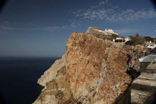Anemomilos Apartments church on cliff