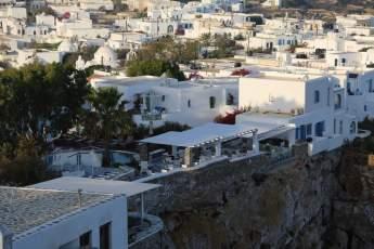 Anemomilos Apartments restaurant terrace