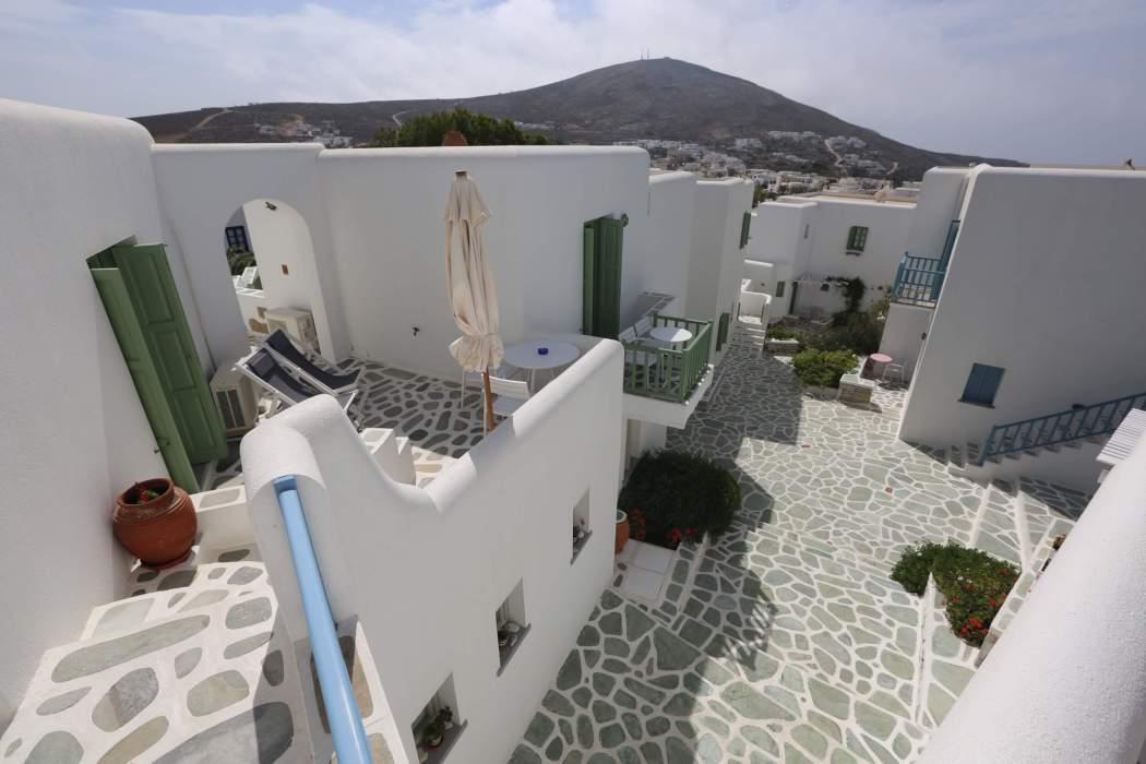 Anemomilos Apartments common area