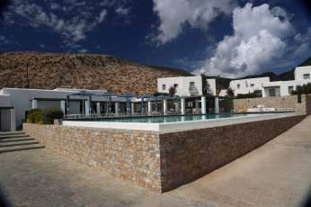 Anemi Hotel pool angle