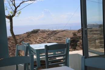 Ano Meria Folegandros restaurant view