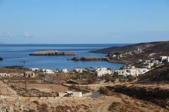 Karavostasi Folegandros view