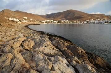 Karavostasi Folegandros rocks
