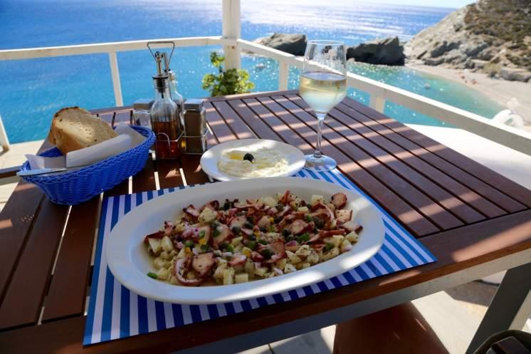 Papalagi Seafood meal