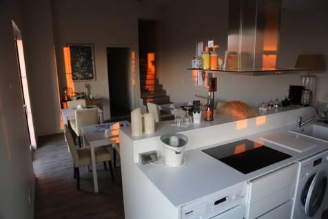 Histoires de Bastide kitchen dawn