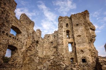 Saissac ruins