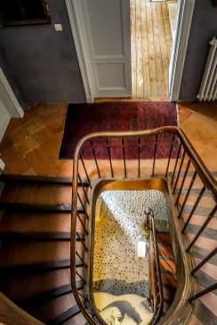 camellas-lloret stairway view