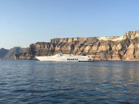 To get to Folegandros, you can take a ferry from Piraeus or fly to Santorini and take a quick 45 minute ferry.