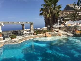 Anemomilos Apartments pool