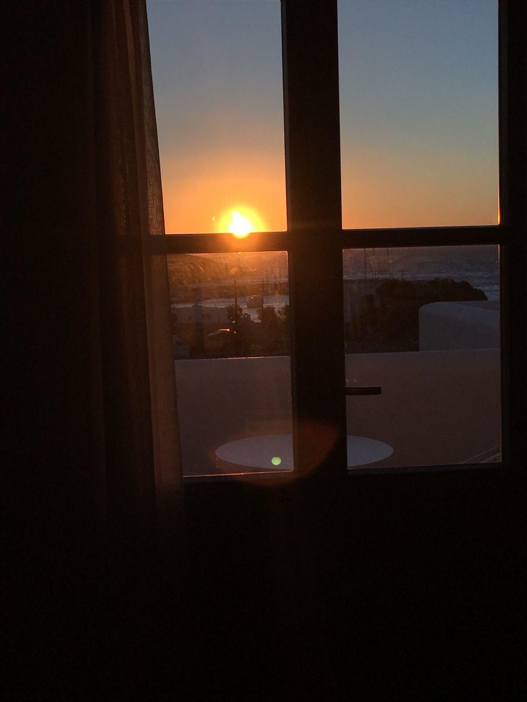 Anemi Hotel sunrise view
