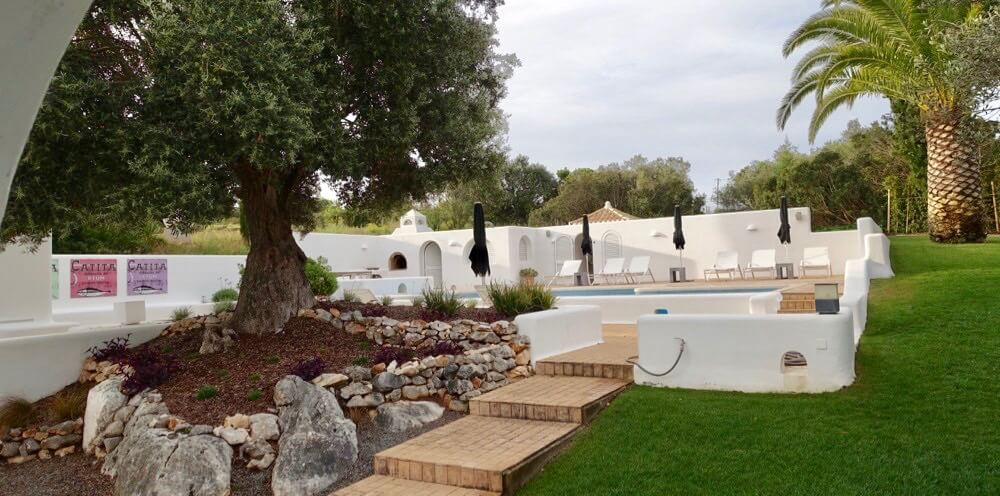 Casa Arte pool view