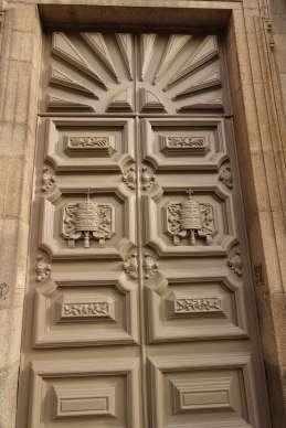 Porto church doorway detail
