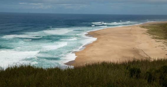 Nazaré beach break