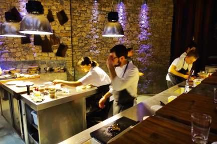 Areias do Seixo kitchen staff