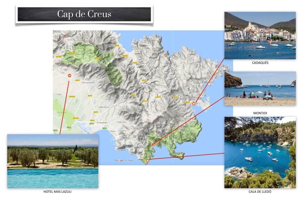 Cap de Creus picture map