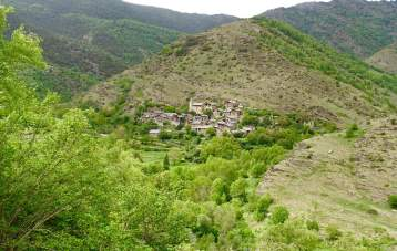 Berén village in Spain