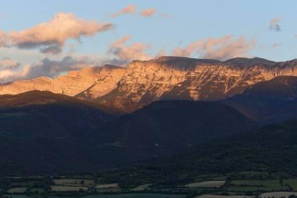 Serra del Cadí sunset