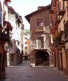 La Seu d'Urgell old street