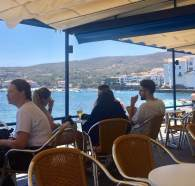 There are some great little restaurants lining the whole harbor and bay. Just sit, eat and smile.
