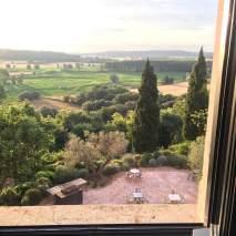 Castell d'Emporda bedroom view
