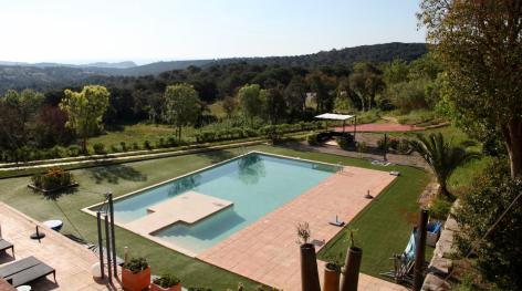 Sant Pere del Bosc pool