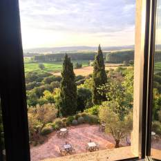 Castell d'Emporda window view