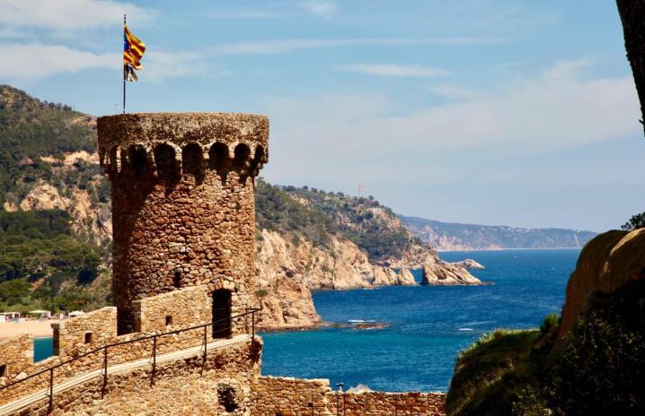 Tossa del Mar fort tower