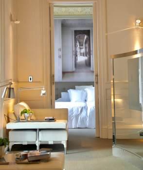 El Palauet Living bedroom view