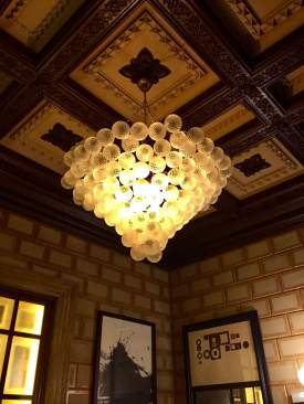 Cotton House Barcelona chandelier