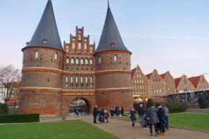 Lübeck entrance