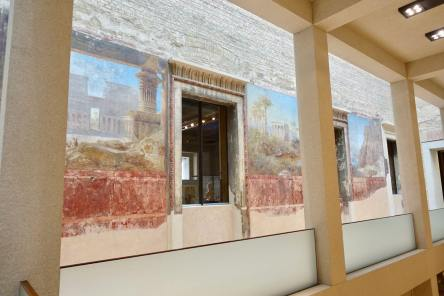Neues Museum fresco