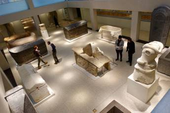Neues Museum visitors