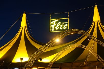 Flic Flac tent detail