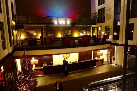 Gastwerk Hotel Hamburg lobby