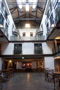 Gastwerk Hotel Hamburg hallways
