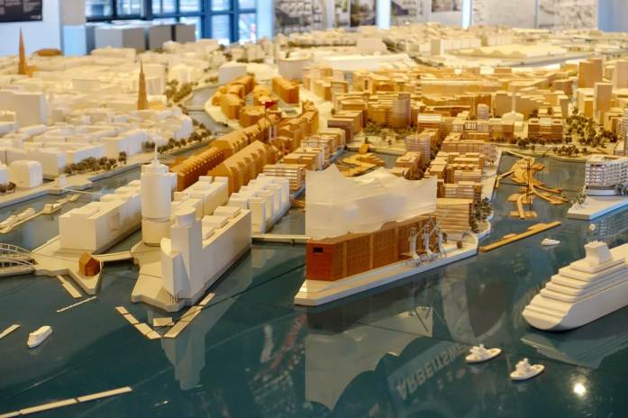 HafenCity model