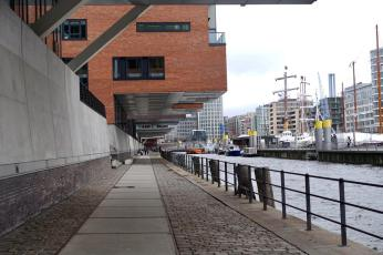 HafenCity walkways