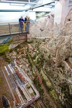 Miniatur Wunderland Alps scene