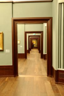 Kunsthalle Hamburg repeating doorways