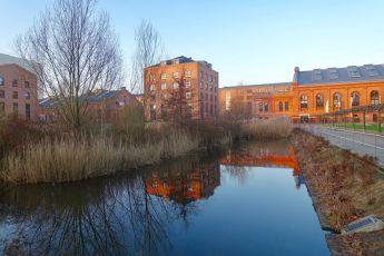 Bahrenpark Hamburg pond
