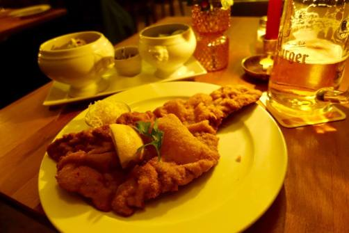 Restaurant Austria Kreuzberg schnitzel