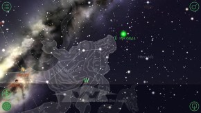 These are the constellations we were looking at. Amazing how the app StarWalk can work so perfectly without a cell signal -- there are no phones out here. You just hold it up and it shows you what you're looking at, even space stations and satellites you can see scooting across the brilliant dark sky.