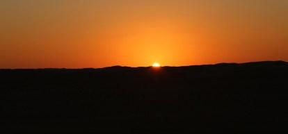 Wahiba Sands sunset