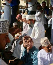 Nizwa Goat Market bidders